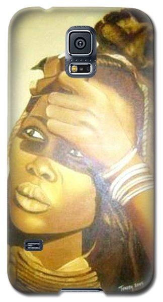 Young Himba Girl - Original Artwork Galaxy S5 Case