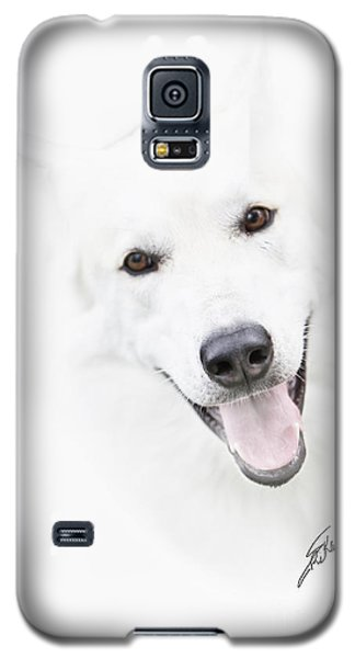 Galaxy S5 Case featuring the digital art Young Wolf by Erika Weber