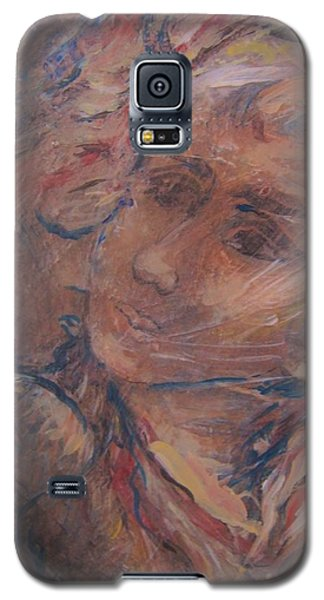 Galaxy S5 Case featuring the painting Your Gifts Detail by Dawn Fisher