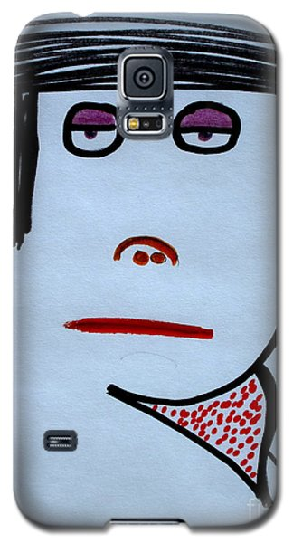 Galaxy S5 Case featuring the drawing Your Neighbor by Bill OConnor