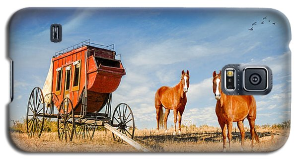 Galaxy S5 Case featuring the photograph Your Ride Awaits by Mary Timman