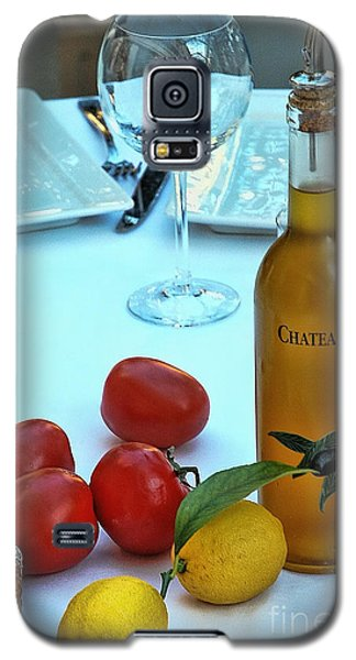 Galaxy S5 Case featuring the photograph Your Table Is Ready by Allen Beatty