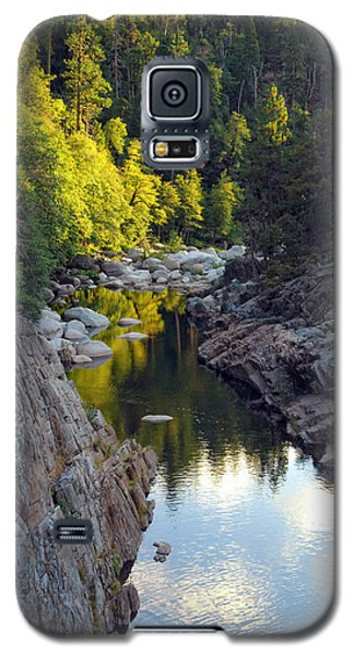 Yuba River Twilight Galaxy S5 Case