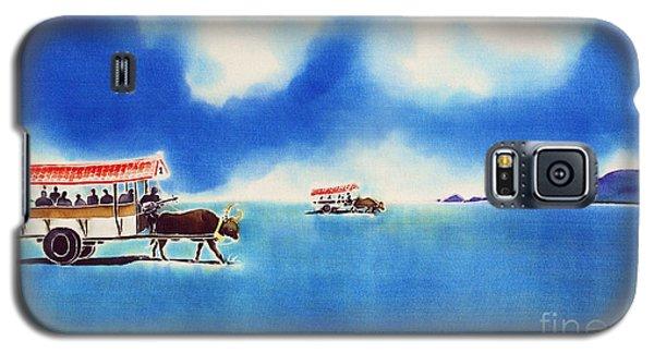 Yubu Island-water Buffalo Taxi  Galaxy S5 Case