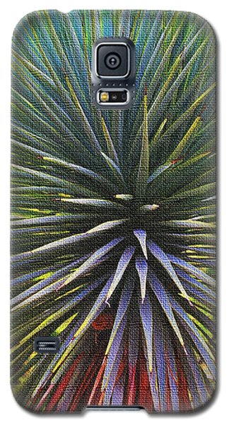 Galaxy S5 Case featuring the photograph Yucca At The Arboretum by Tom Janca