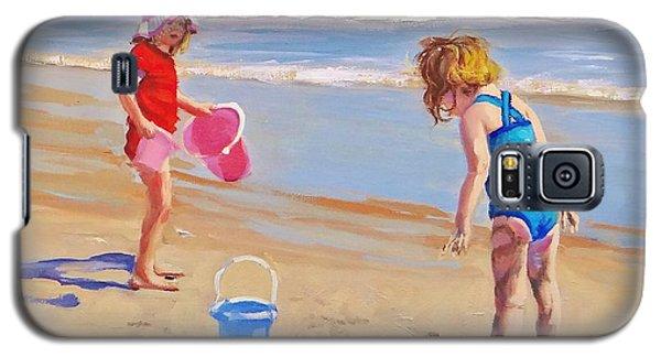 Beach Galaxy S5 Case - Yuck by Laura Lee Zanghetti