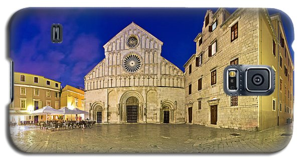 Zadar Cathedral Square Night View Galaxy S5 Case by Brch Photography
