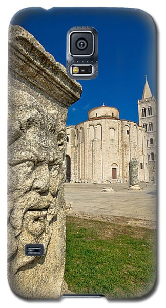 Zadar Old Roman Square Artefacts Galaxy S5 Case by Brch Photography