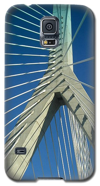 Zakim Bridge Boston Galaxy S5 Case by Mary Bedy