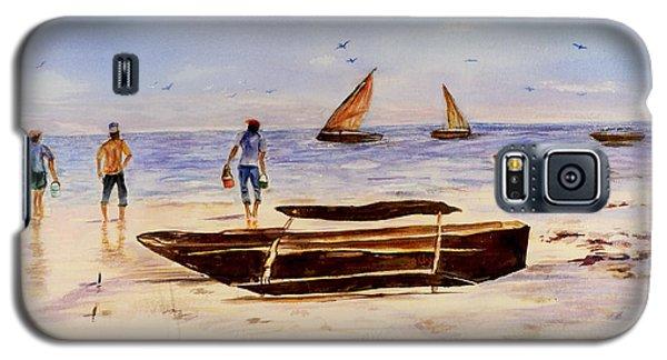 Zanzibar Forzani Beach Galaxy S5 Case by Sher Nasser