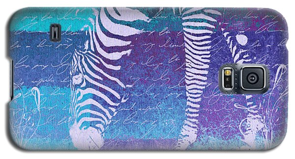 Zebra Art - Bp02t01 Galaxy S5 Case