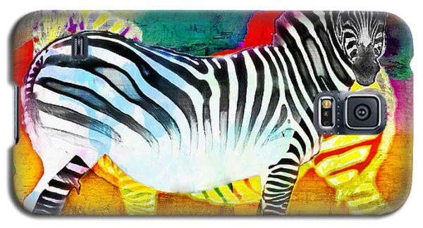 Zebra Colors Of Africa Galaxy S5 Case