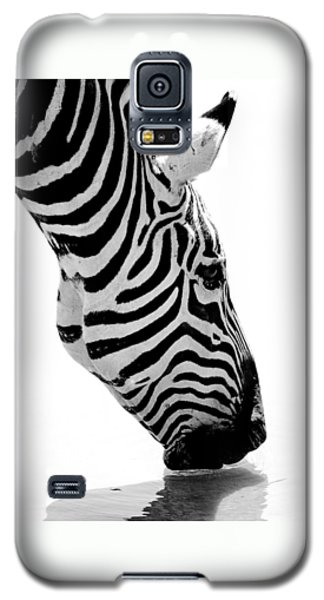 Zebra Galaxy S5 Case by Elizabeth Budd