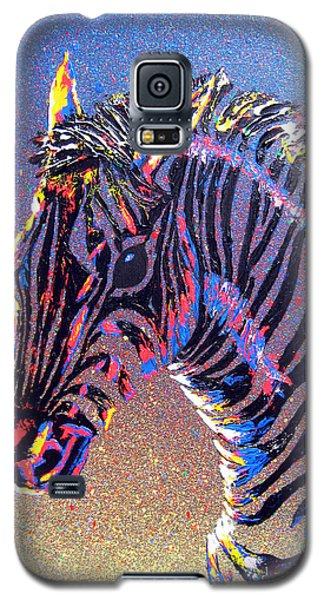 Zebra Fantasy Galaxy S5 Case by Mayhem Mediums