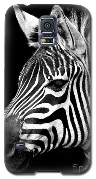 Zebra Galaxy S5 Case by Gunnar Orn Arnason