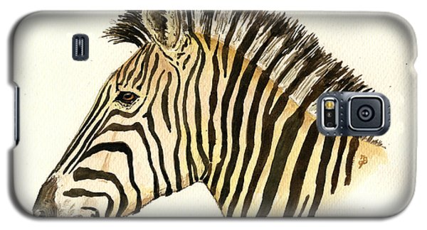 Zebra Head Study Galaxy S5 Case