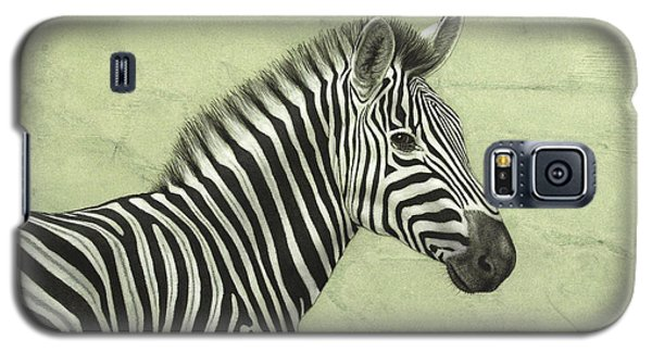 Zebra Galaxy S5 Case by James W Johnson