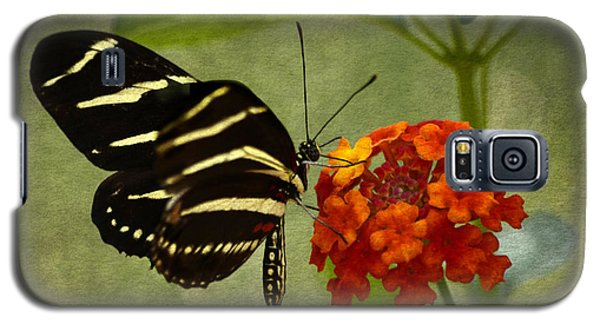 Zebra Longwing Galaxy S5 Case