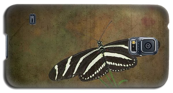 Zebra Longwing  Butterfly-1 Galaxy S5 Case
