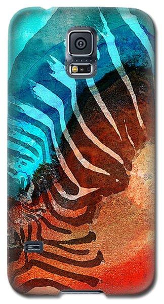 Zebra Love - Art By Sharon Cummings Galaxy S5 Case