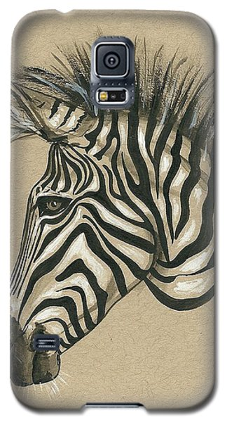 Zebra Profile Galaxy S5 Case