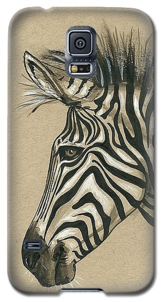 Zebra Profile Galaxy S5 Case