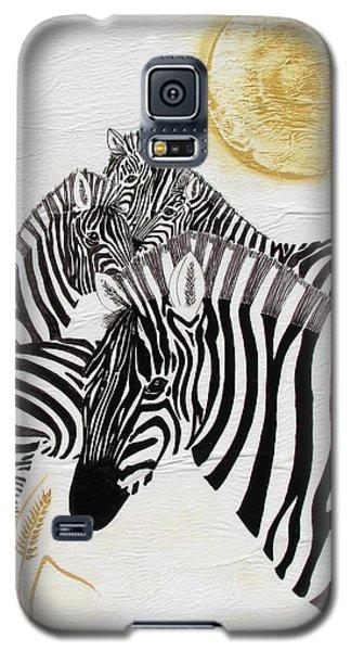 Zebra Quintet Galaxy S5 Case by Stephanie Grant