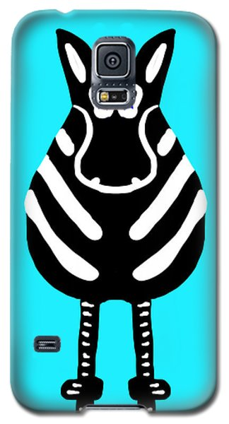 Zebra - The Front View Galaxy S5 Case