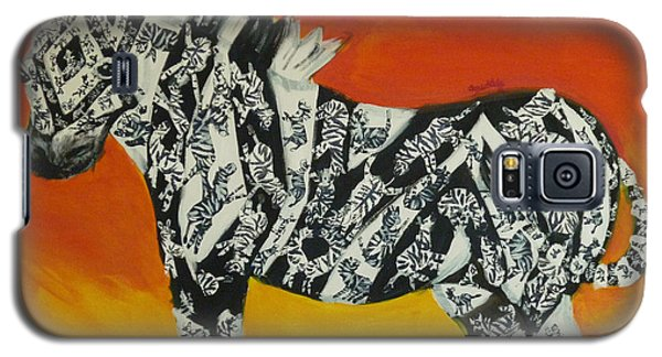 Zebras In Stripes Galaxy S5 Case by Cassandra Buckley