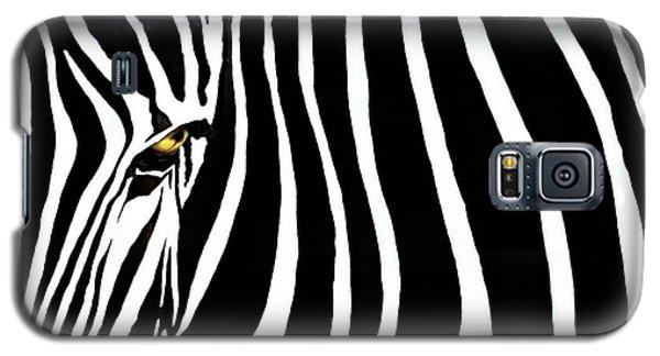 Zebressence Galaxy S5 Case by Dan Holm