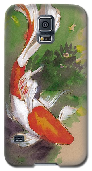 Zen Comet Goldfish Galaxy S5 Case by Tracie Thompson