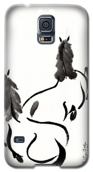 Zen Horses Retired Galaxy S5 Case