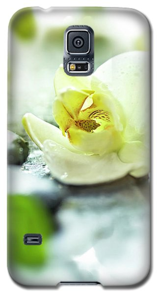 Orchid Galaxy S5 Case - Zen Orchid by #name?