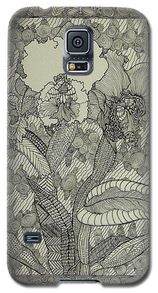 Zen Orchids Galaxy S5 Case