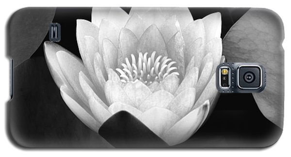 Galaxy S5 Case featuring the photograph Waterlily Rising  by John F Tsumas