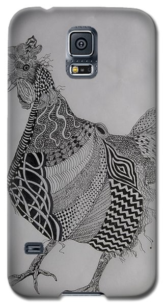 Zen Rooster Right Galaxy S5 Case