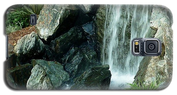 Galaxy S5 Case featuring the photograph Zen Waterfall by Therese Alcorn