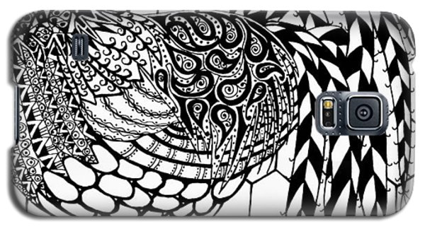 Zentangle Rooster Galaxy S5 Case