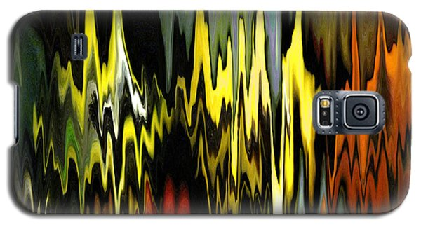 Galaxy S5 Case featuring the digital art Zig Zag by Mary Bedy