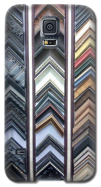 Galaxy S5 Case featuring the photograph Zig Zags by Fortunate Findings Shirley Dickerson