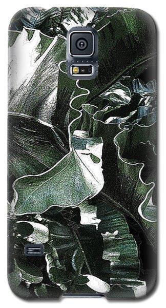 Zigzag Galaxy S5 Case by Angela Treat Lyon