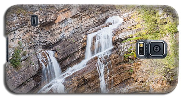 Galaxy S5 Case featuring the photograph Zigzag Waterfall by John M Bailey