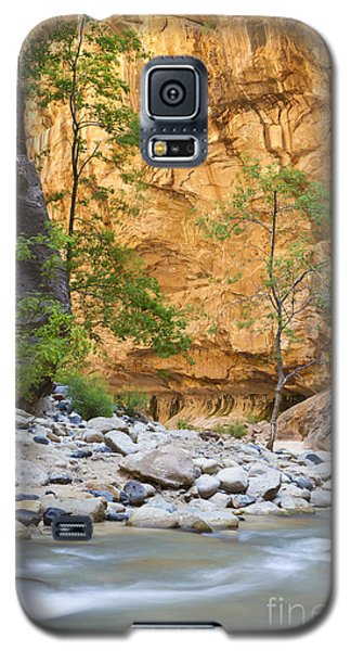 Galaxy S5 Case featuring the photograph Zion Narrows by Bryan Keil