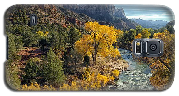 Zion National Park In Fall Galaxy S5 Case