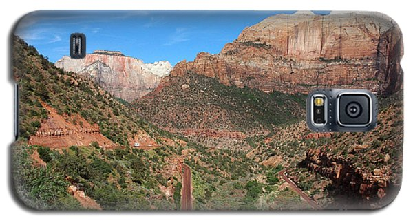 206p Zion National Park Galaxy S5 Case