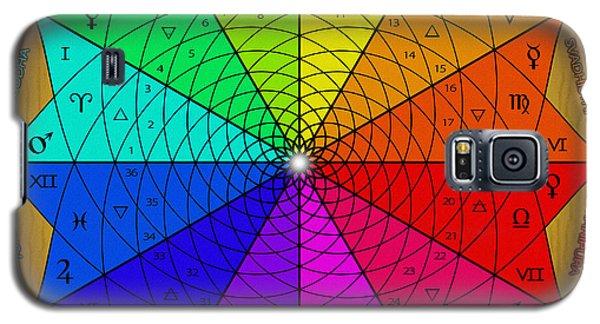 Zodiac Color Star Galaxy S5 Case