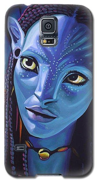 Zoe Saldana As Neytiri In Avatar Galaxy S5 Case