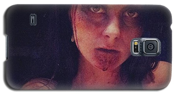 Nerd Galaxy S5 Case - #zombie #evildead #ilovehalloween by Mandy Shupp