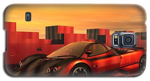 Galaxy S5 Case featuring the digital art Zonda F by John Pangia