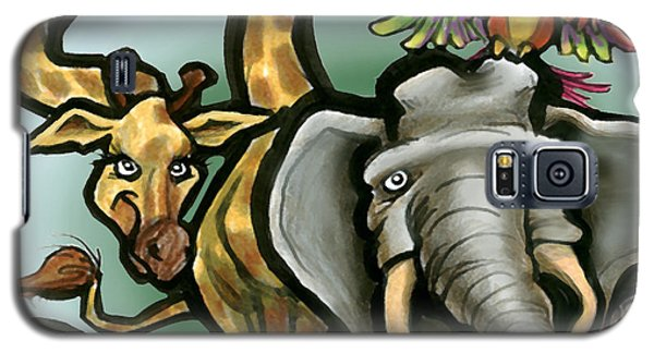 Zoo Animals Galaxy S5 Case
